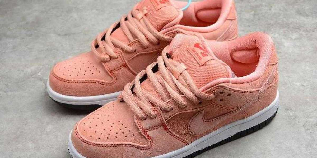 Nike SB Dunk Low Pro Pink Red White is the best 2021 New Year Gift