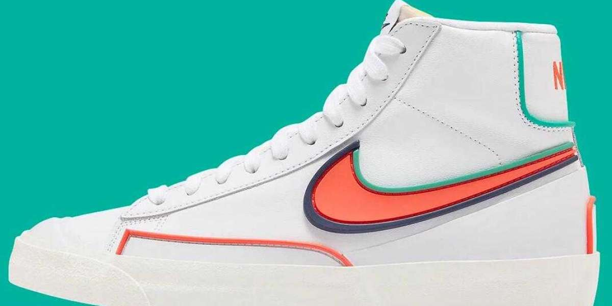 Nike Blazer Mid Infinite Releasing With Bright Crimson And Blue Void