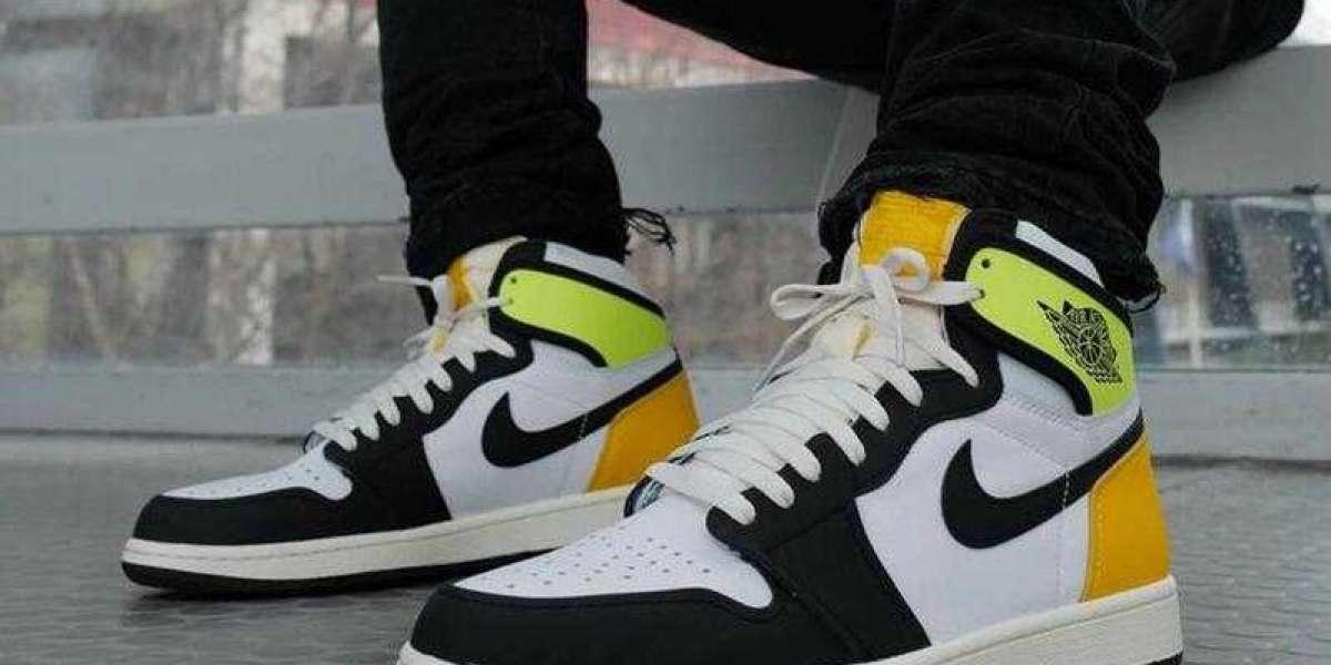Everyone Wanna Get One Pair Air Jordan 1 Retro High OG Volt Gold Shoes