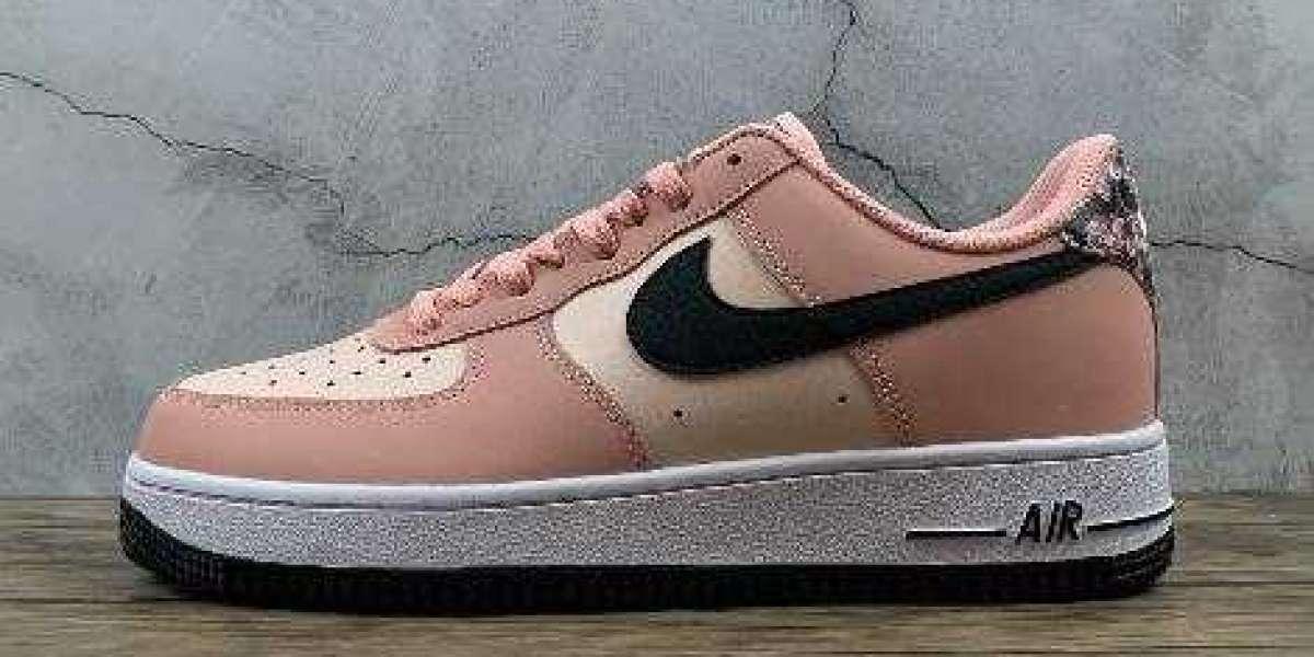 CU6649-100 Buy Nike Air Force 1 07 LE White Black Pink Quartz Shoes