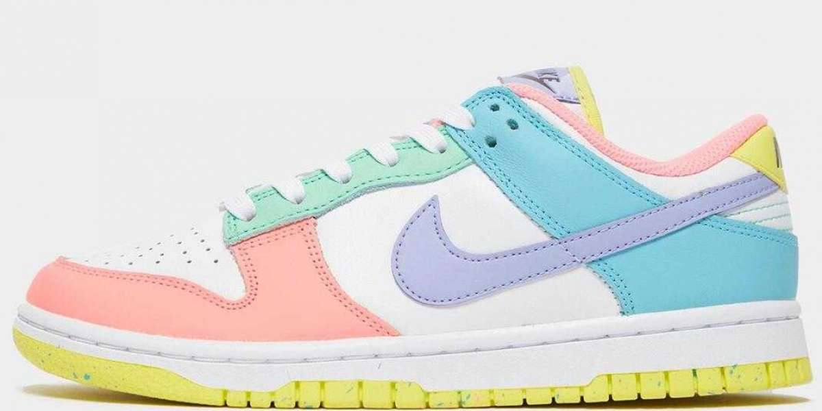 2021 New Nike Dunk Low Light Soft Pink to Release for Womens