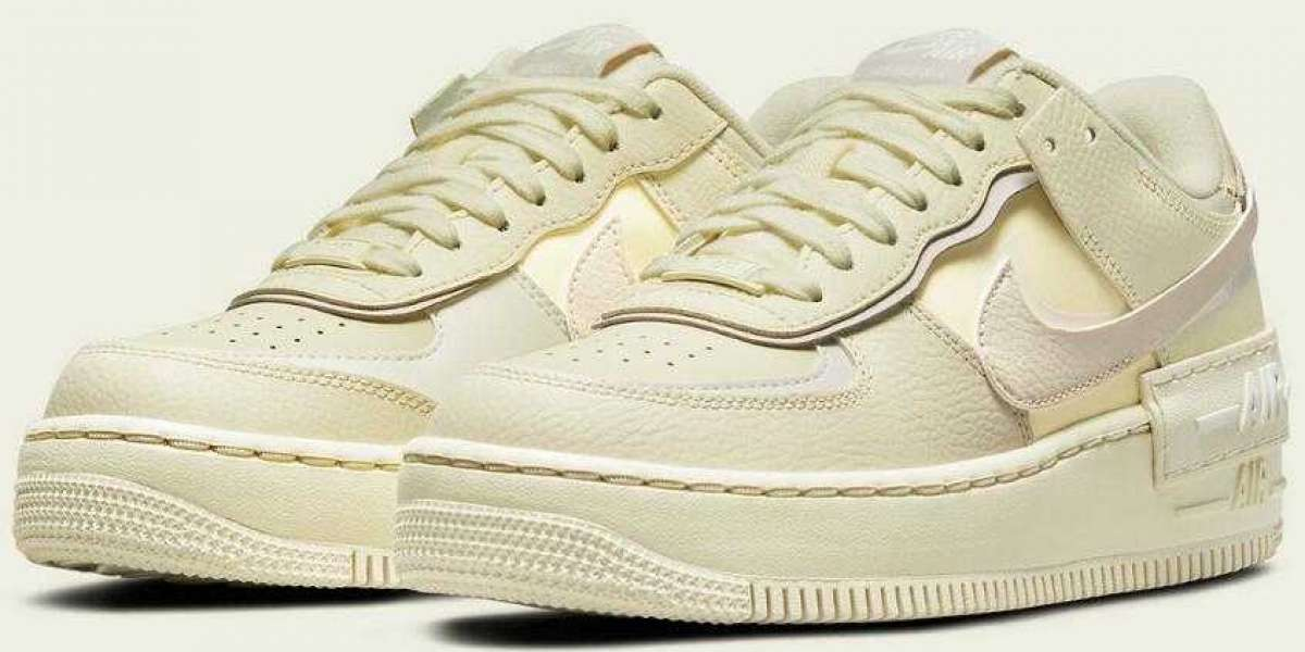 New Air Force 1 Shadow Coconut Milk Releasing for Womens