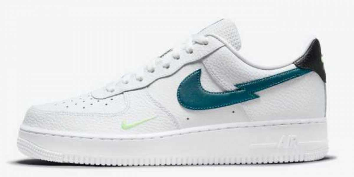 2021 Green Glow Latest Nike Air Force 1 Low 315115-164