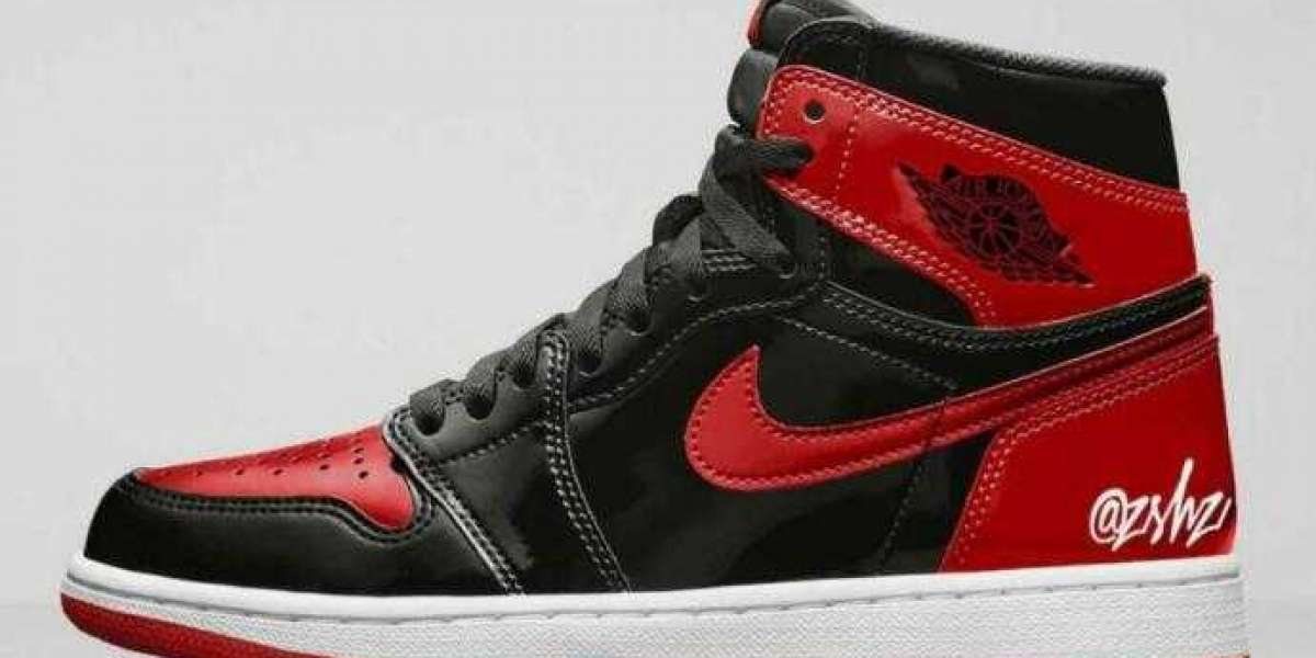 Sneakershead Expect Hot Air Jordan 1 High OG Bred Patent Coming