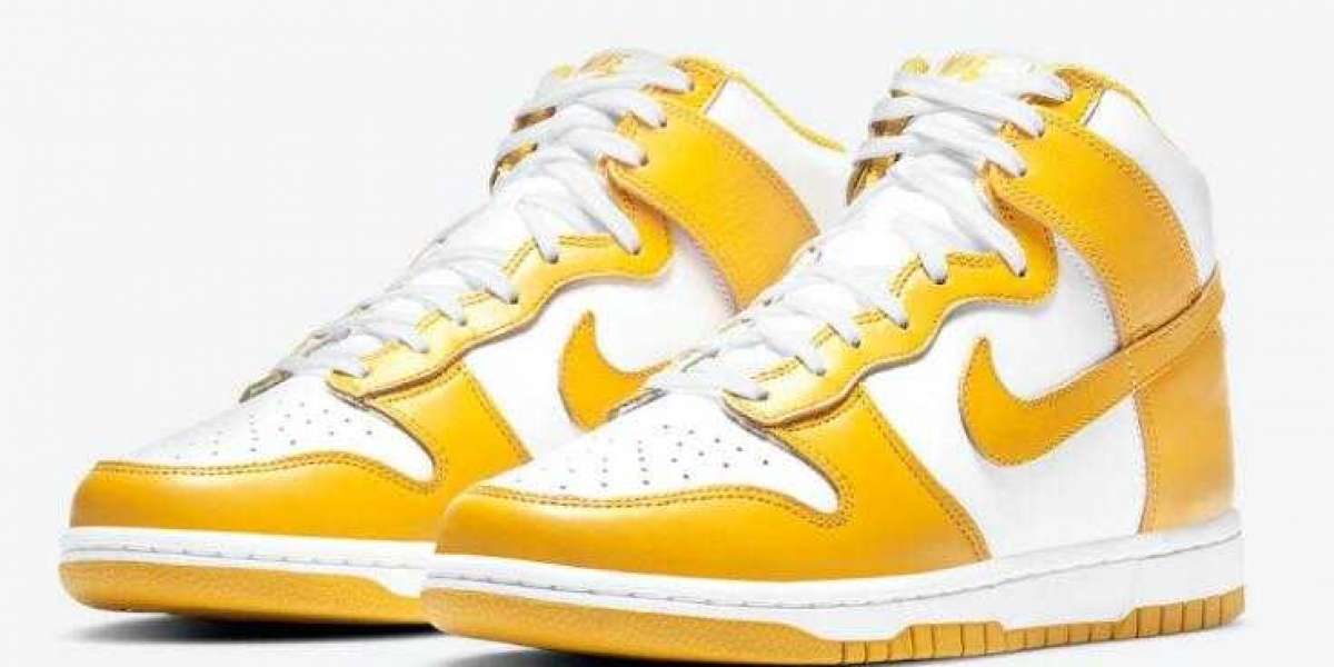 Have you Cop the new Stylish Nike SB Dunk High Dark Sulfur Sport Shoes ?