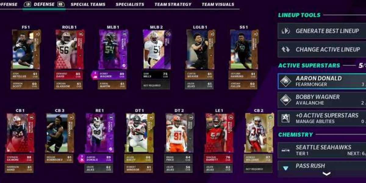 There are some upgraded MCS cards available in Madden 21 Ultimate Team