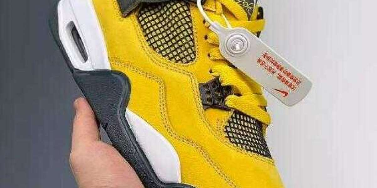Shop Best Deal Air Jordan 4 Retro LS Lightning with Free Shipping
