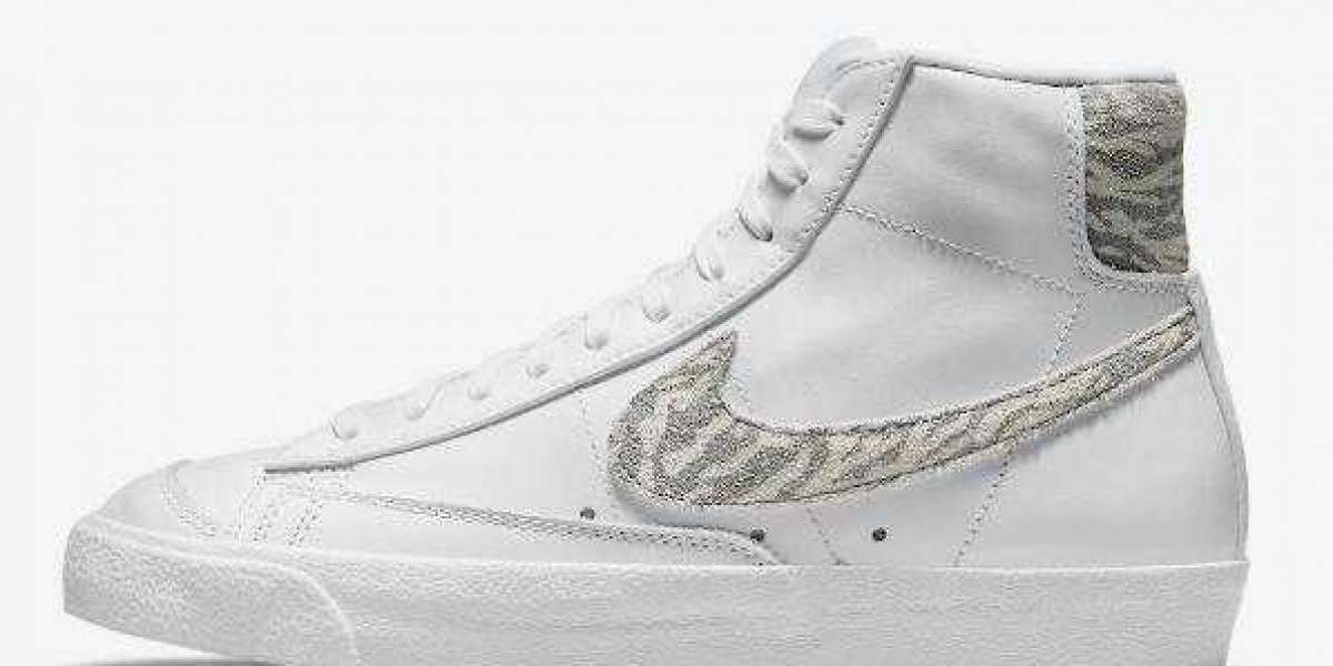 "Nike Blazer Mid '77 ""Zebra"" DH9633-101 Coming On the Way"