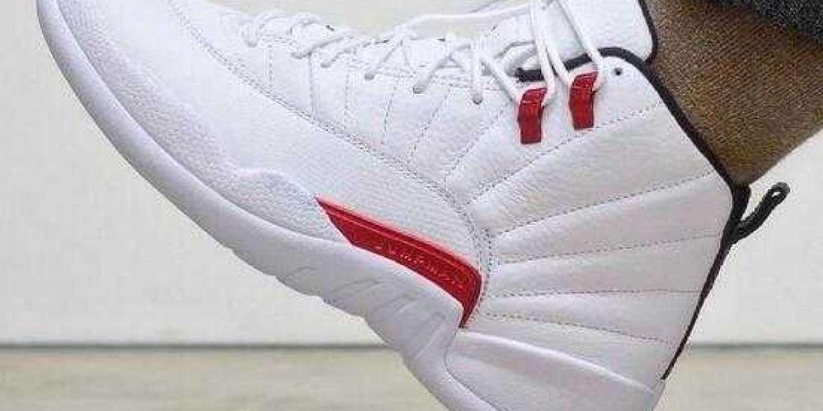 Air Jordan 12 Twist White University Red-Black Will Arrive in July