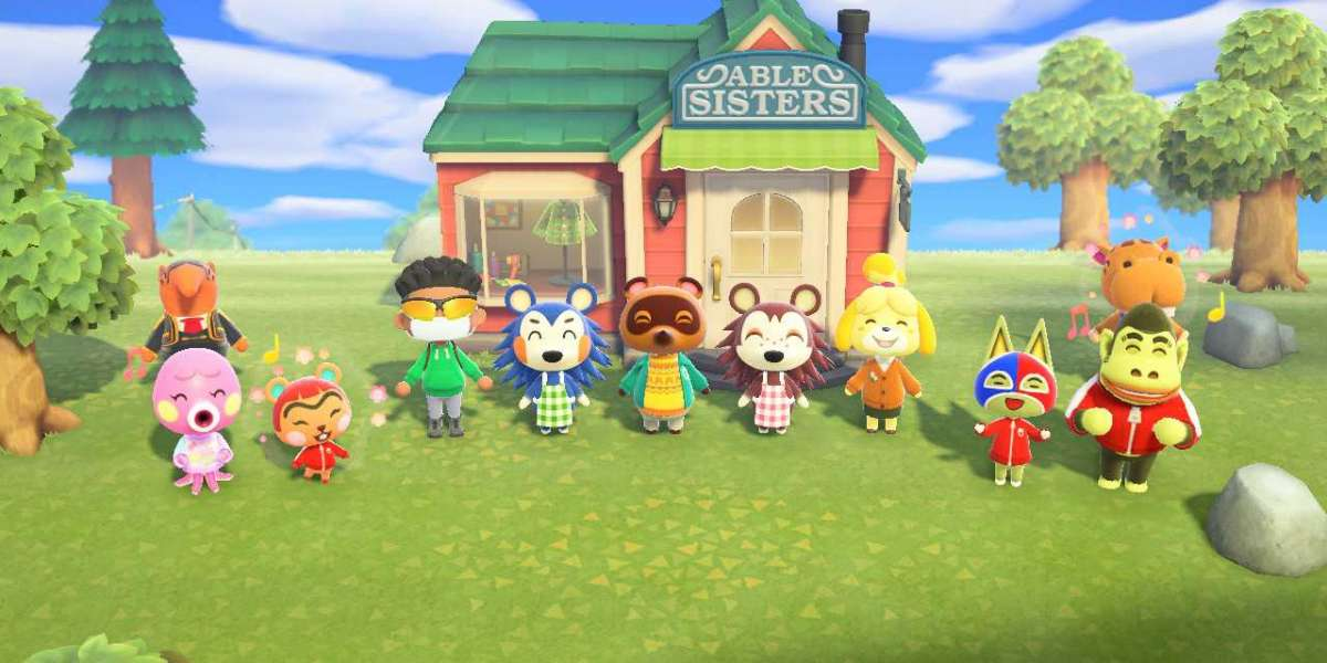 Raymond and Stitches and unique Animal Crossing characters like Tom Nook