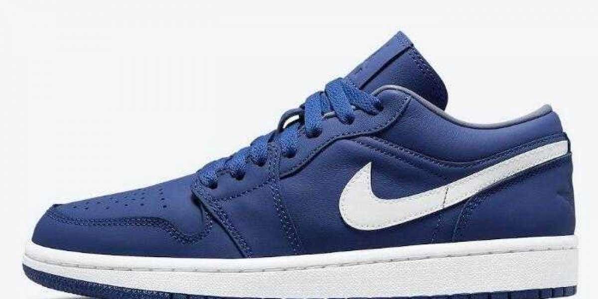 Running Shoes Air Jordan 1 Low Deep Royal Coming On The Way