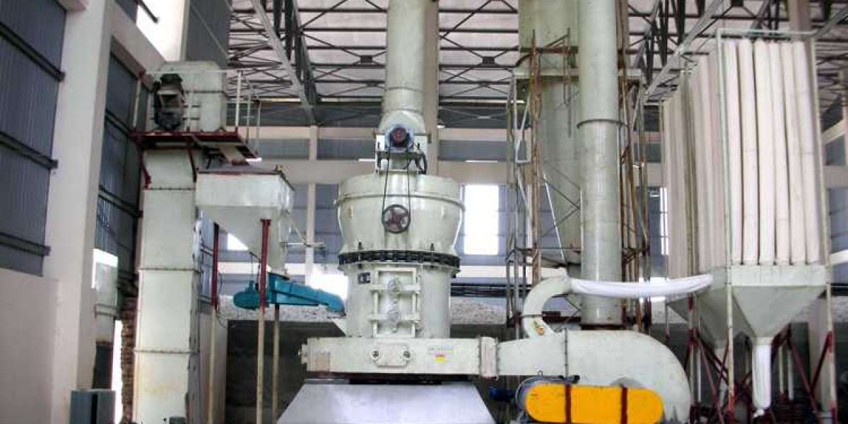 Low-pressure Feed System Of Ultrafine Vertical Mill