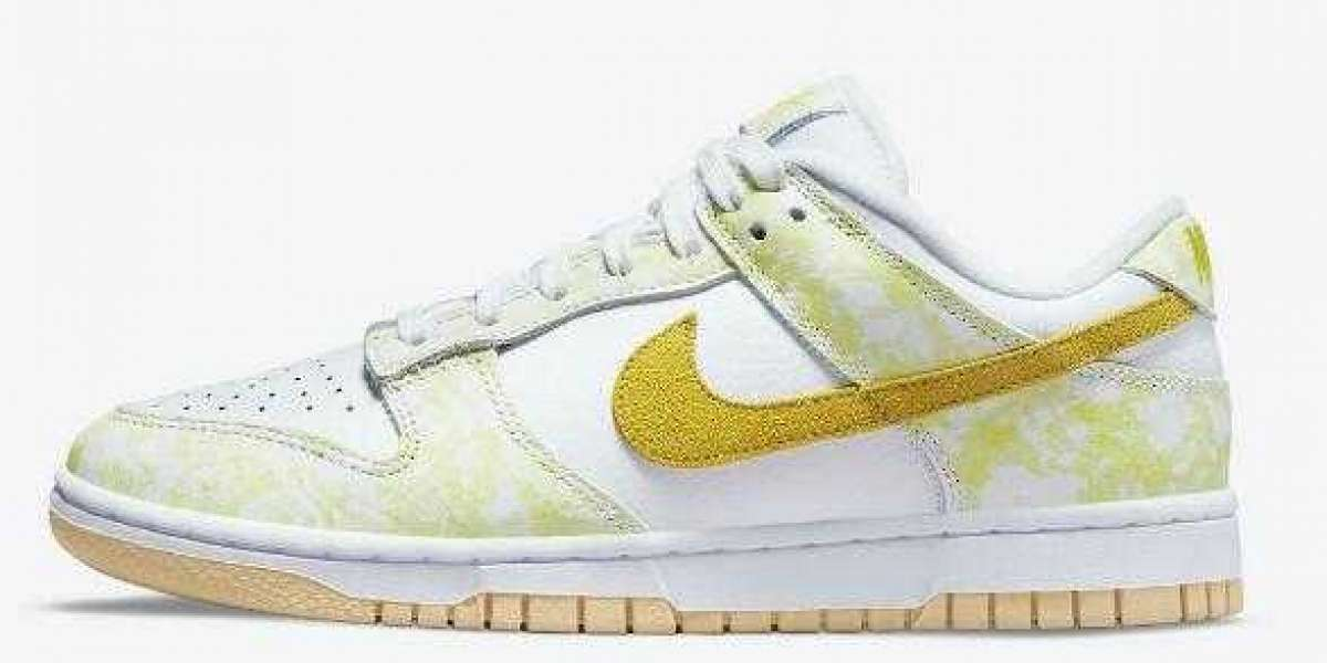 DM9467-700 Nike Dunk Low Yellow Strike to drop on July 30th, 2021